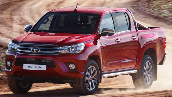 Toyota HiLux AN120 (2015-2020)