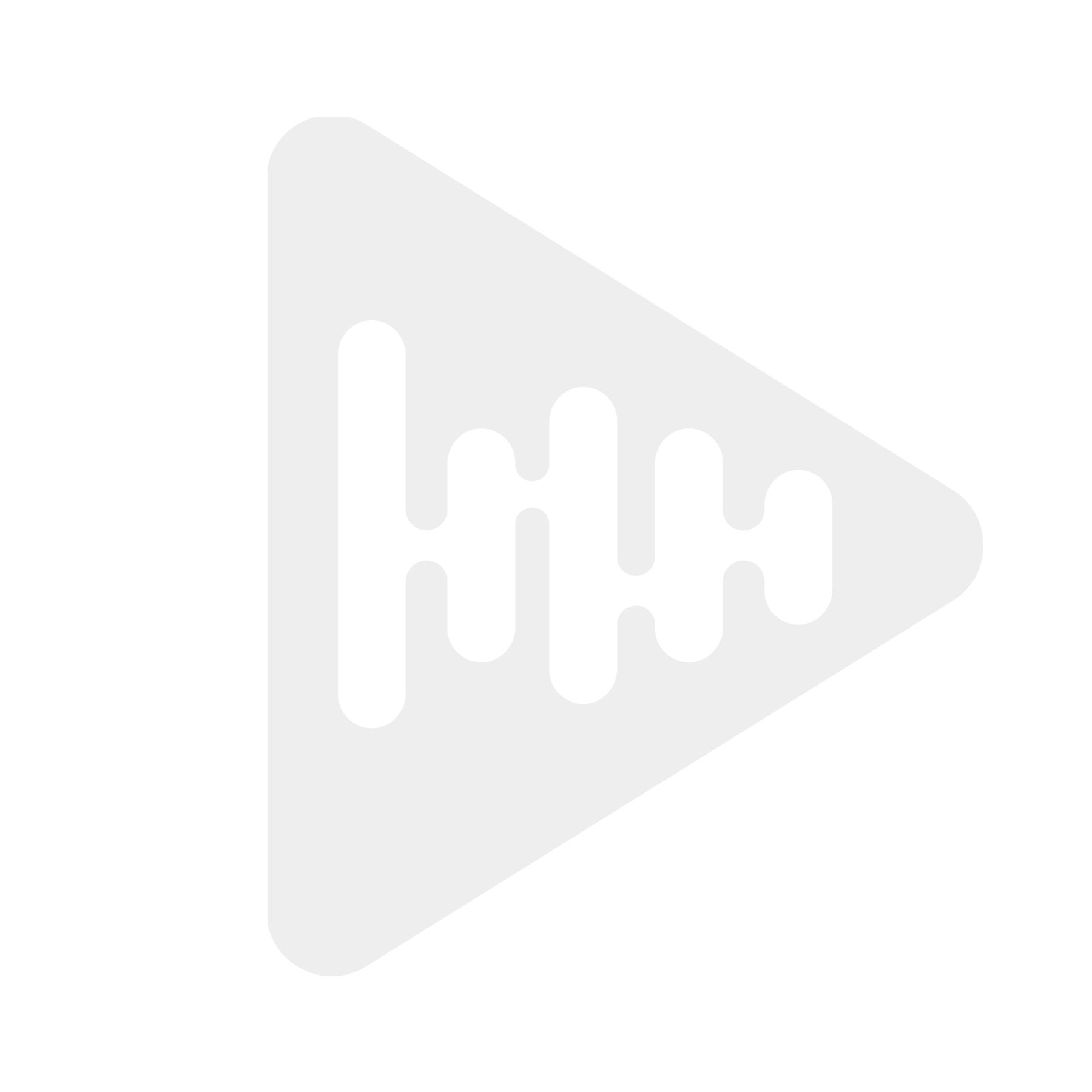 Oehlbach 2601 SILVER EXPRESS PLUS 100 - Audiokabel RCA-RCA /m jord, 24k gull, OFC, 2x skjerm, 1m